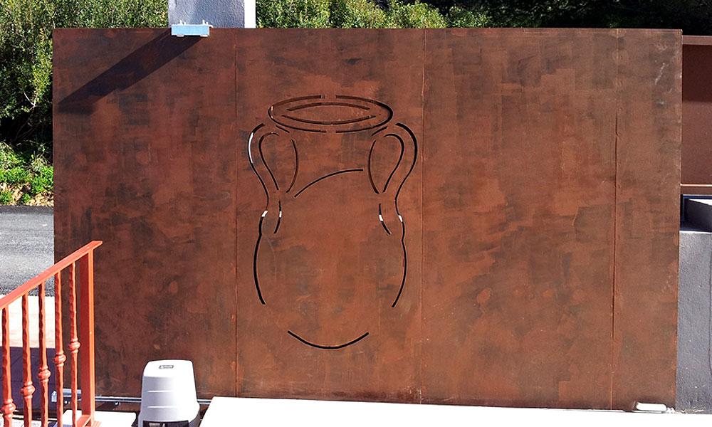 Ferroibiza s a decora con hierro - Chapa de hierro ...