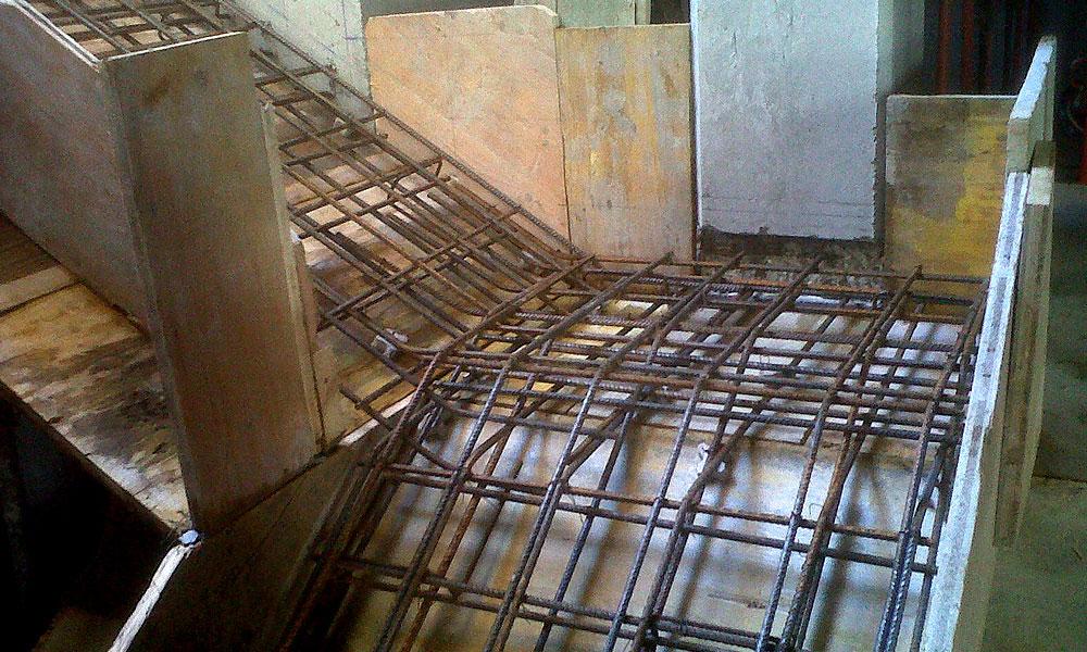 Ferroibiza s a trabajos ferralla a pi de obra for Escaleras de exterior de obra